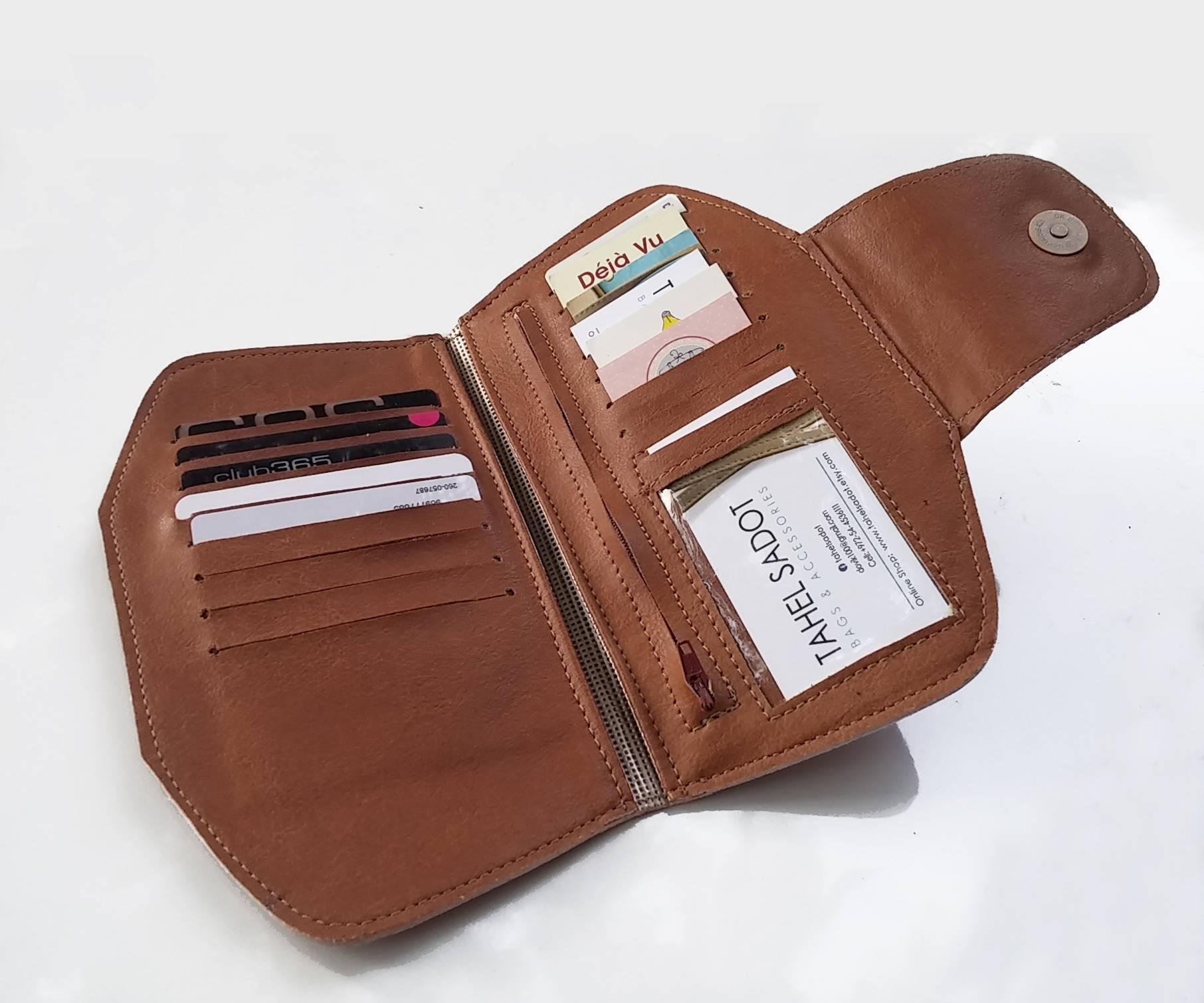 15989c8ff1 Brown Vegan Women s Wallet