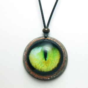 Cat eye pendant/Orgone Pendant/Orgone Necklace/cats eye necklace for men/Healing jewelry/Emf protection becklace/Boho pendant/eye necklace