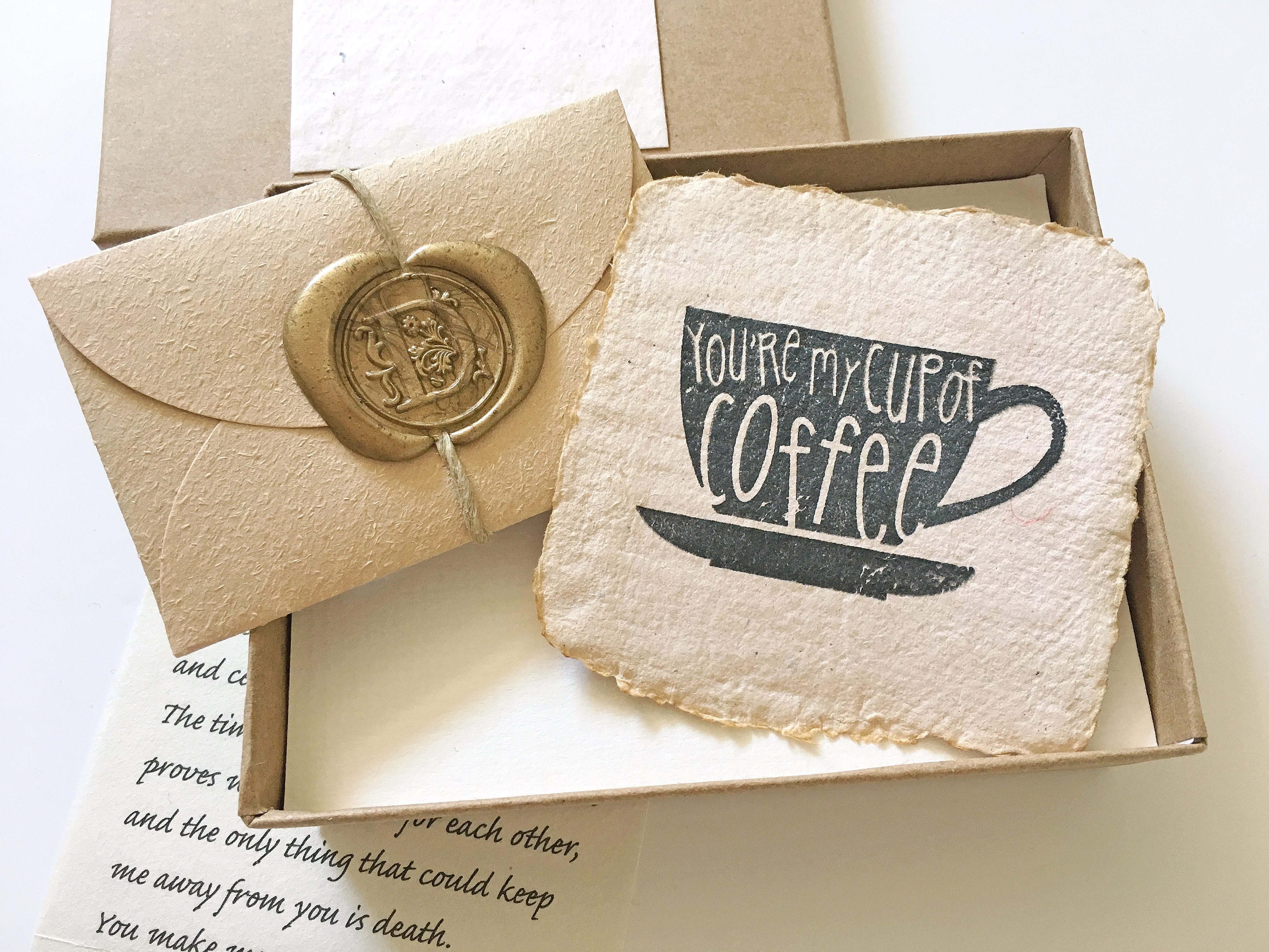 Personalized Handmade Paper Card And Your Love Letter Birthday Gift For Men Customized Guy Romantic Present Boyfriend