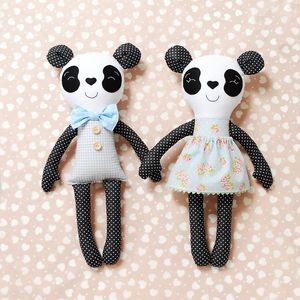 Cute pair of Panda plush/stuffed toy for babies