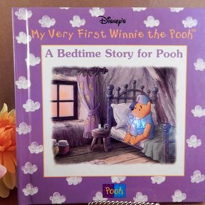 Book A Bedtime Story for Pooh Disneys My Very First Winnie the Pooh Vintage 1999 Illustrated Animal Picture Story Hardback Gift Book for Children