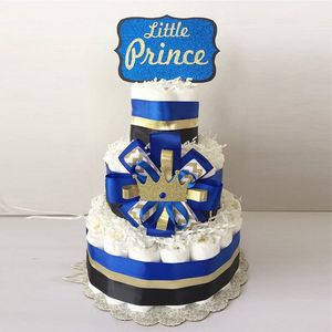 Prince Diaper Cake, Little Prince Baby shower, Party Supply, Little Prince Decor
