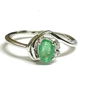EMERALD DIAMOND RING, Taurus birthstone , Emerald cut ring, antique emerald ring , Engagement ring , lovely Evening Jewellery....