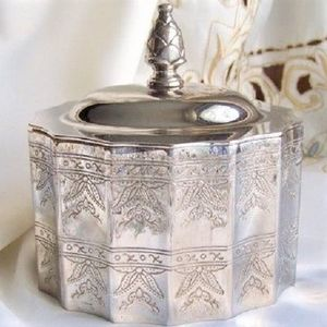 Vintage 1991 Godinger Silver Art Covered Lined Jewelry Box Museum Recreations Giftware