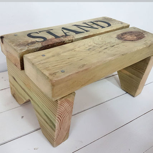 Wooden Stool rustic style