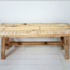 Wooden rustic stool
