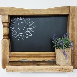 Wall Chalk board Shelf