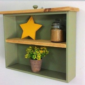 Small Wall storage & display unit, OOAK