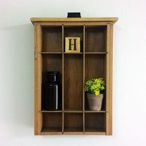Wall Organizer, repurposed wood OOAK