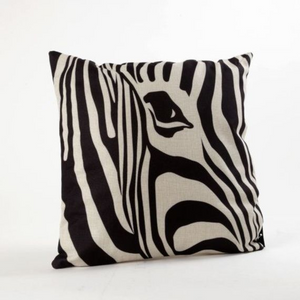 Zebra print, Decorative pillow